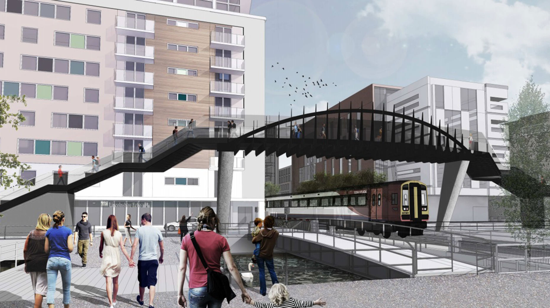 The latest, scaled-down, designs have been submitted to City of Lincoln Council. Designs: Stem Architects