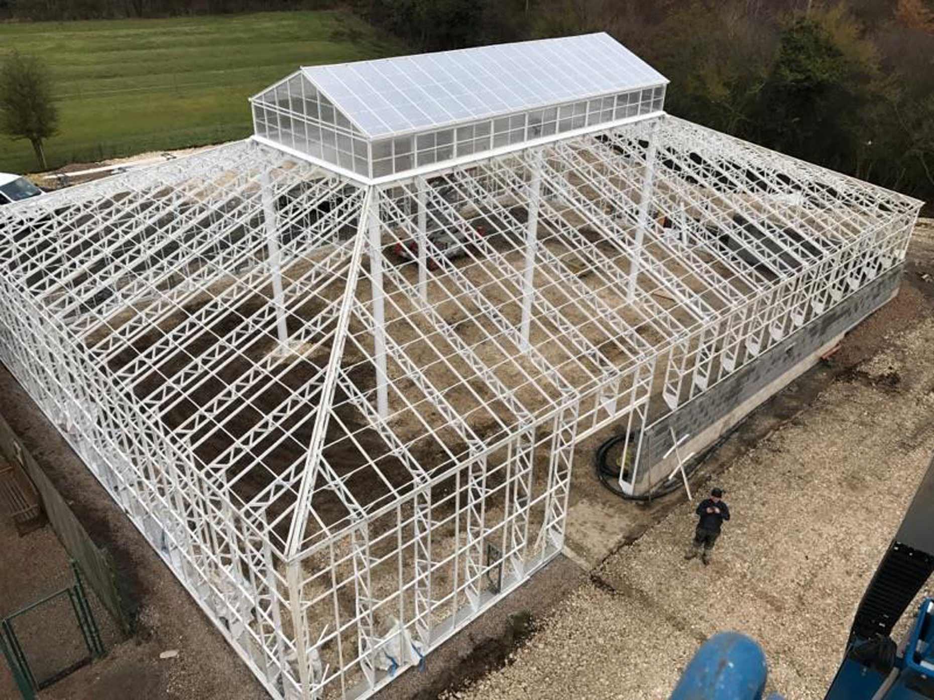 Joseph Banks Conservatory Rebuilt At Lincoln Wildlife Park