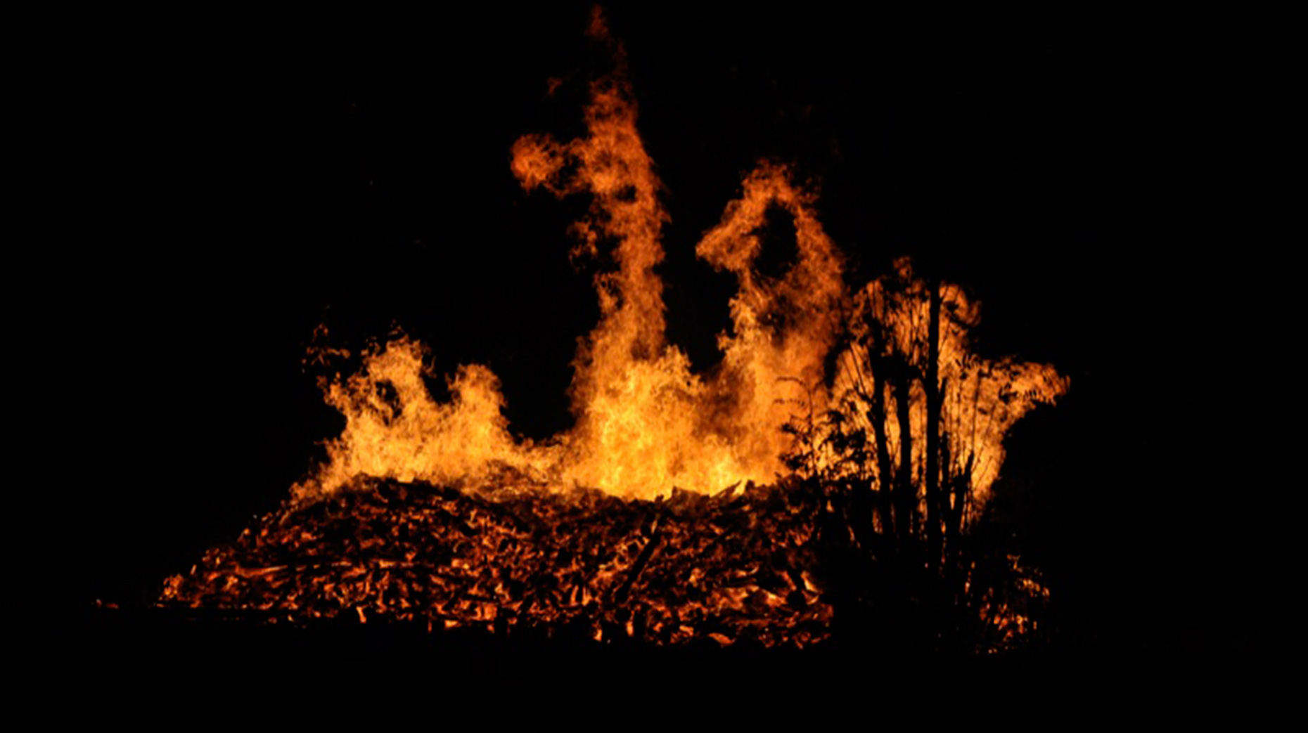 Fire crews battle 800 straw bales ablaze in Waddington