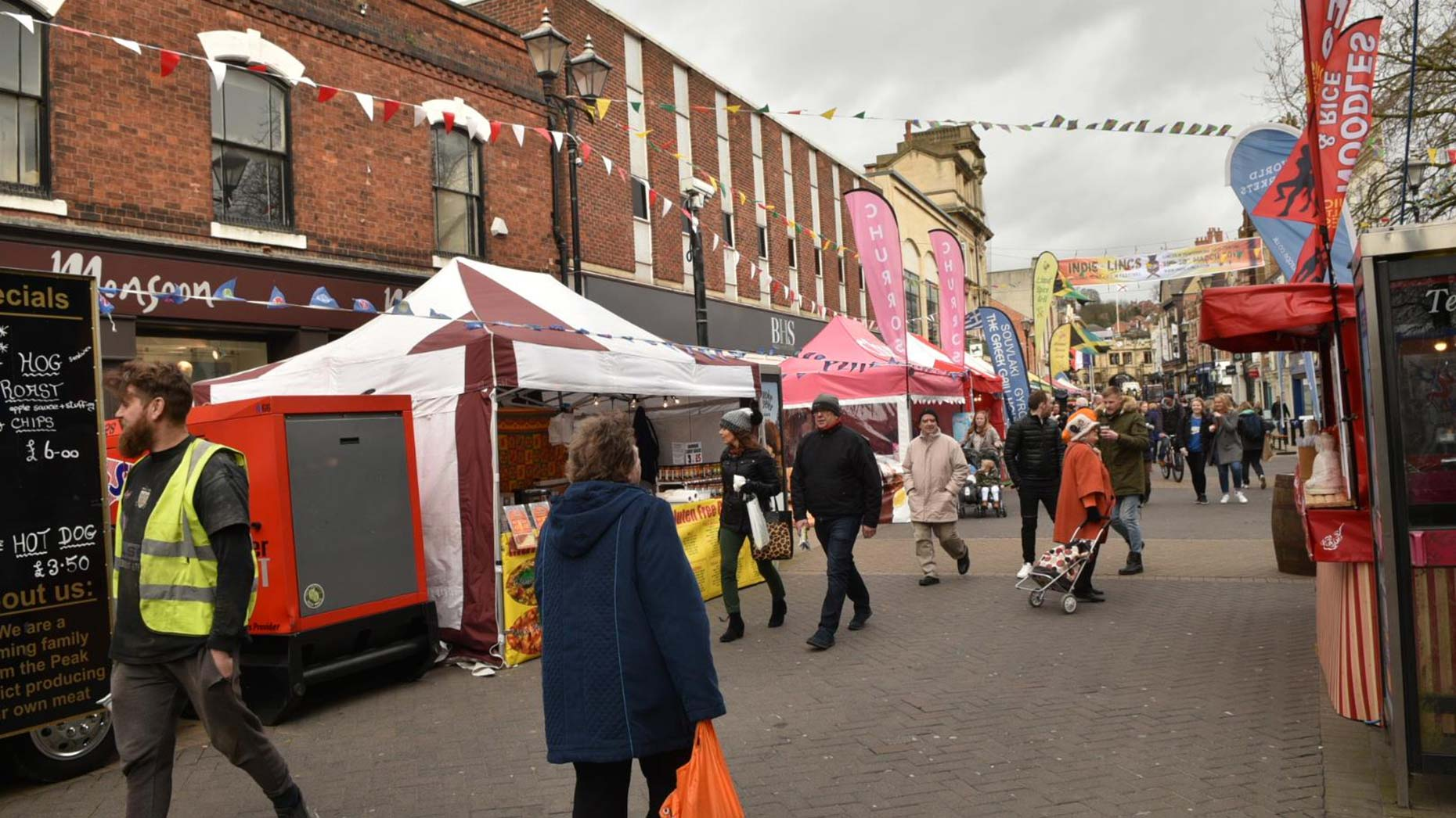 Gallery Lincoln Street Food Festival Opens For The Weekend