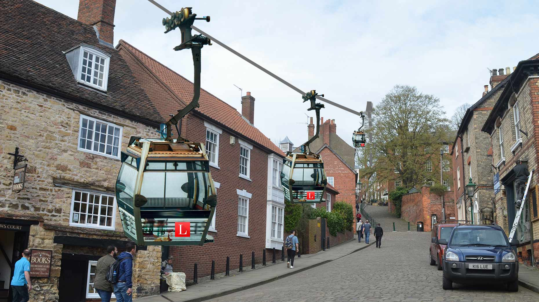 All Aboard Lindum Air Line Steep Hill Cable Cars Planned