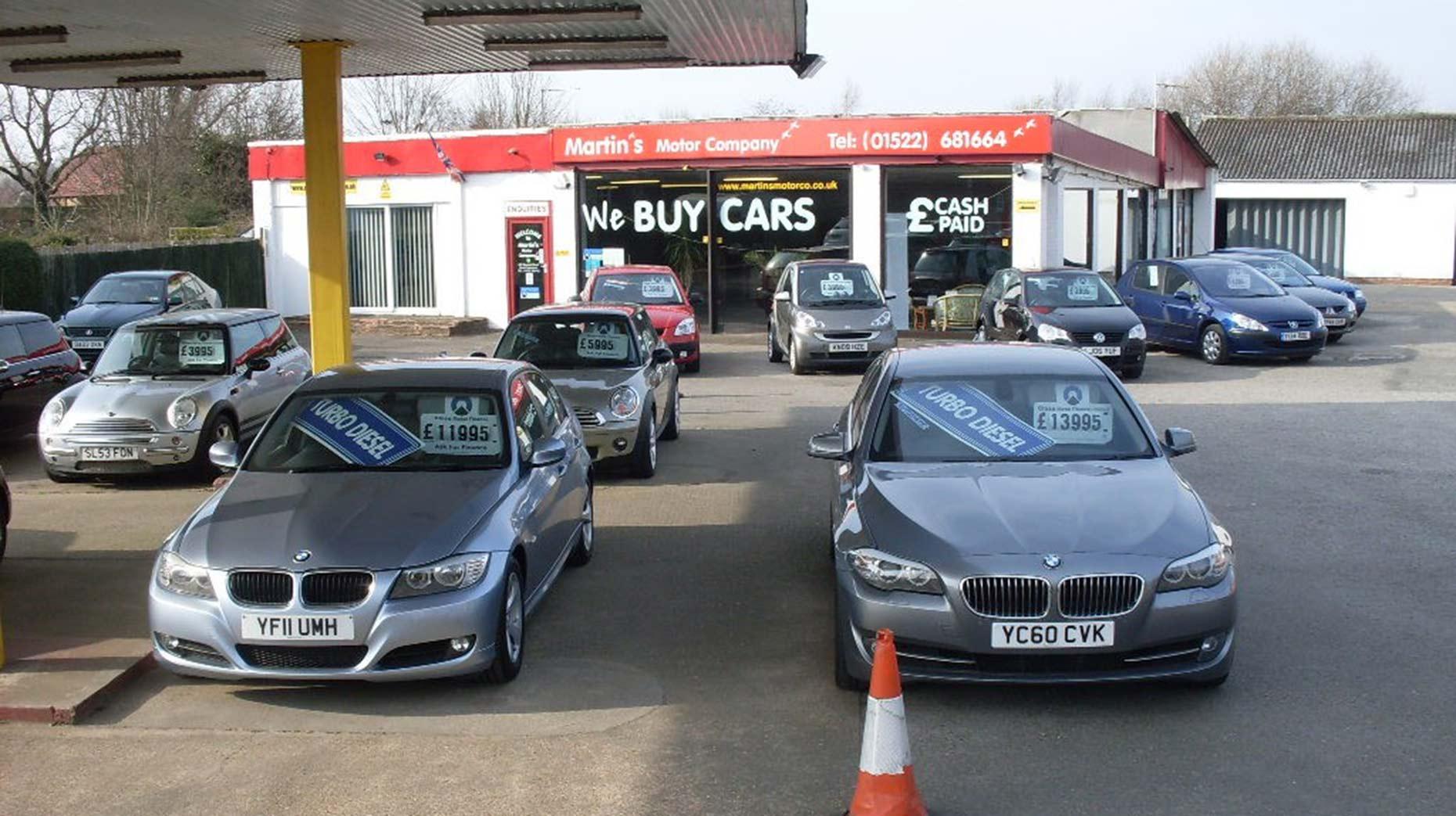 Co Op Used Car Dealership