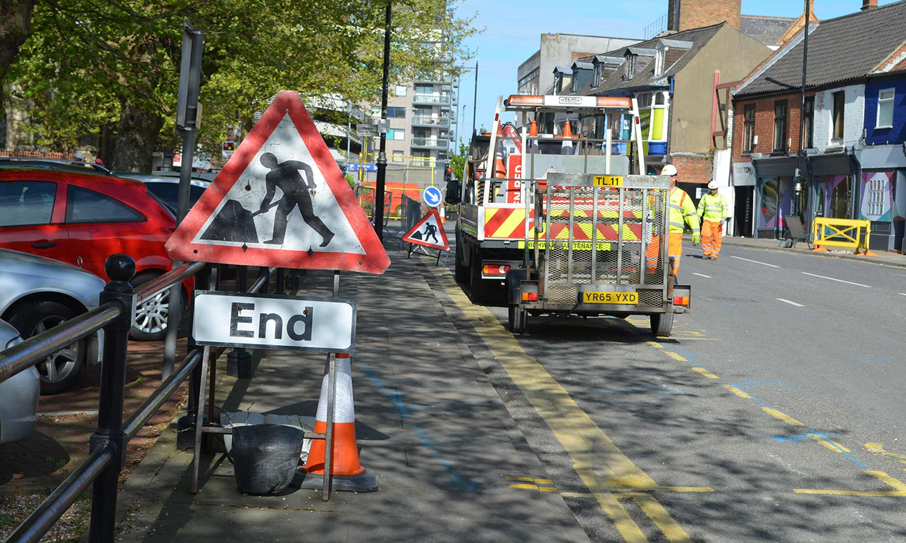 Roadworks Begin On St Mary S Street In Lincoln