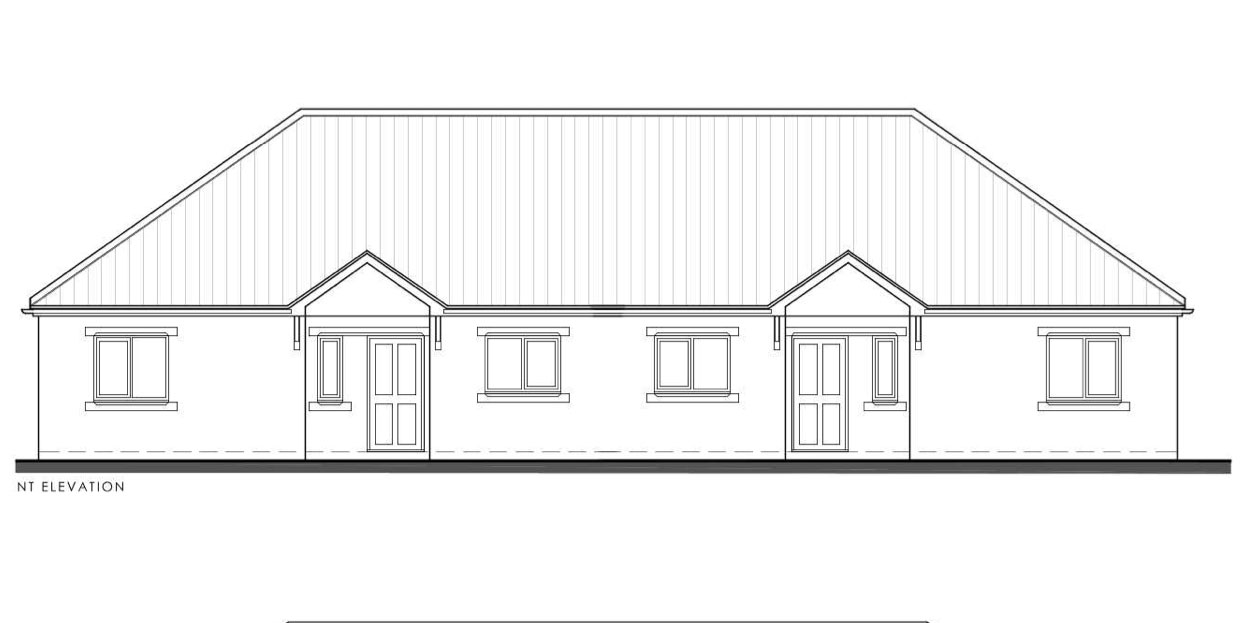 A taste of what the 31 bungalows will look like in Wragby.   Image: Lincs Design Consultancy.
